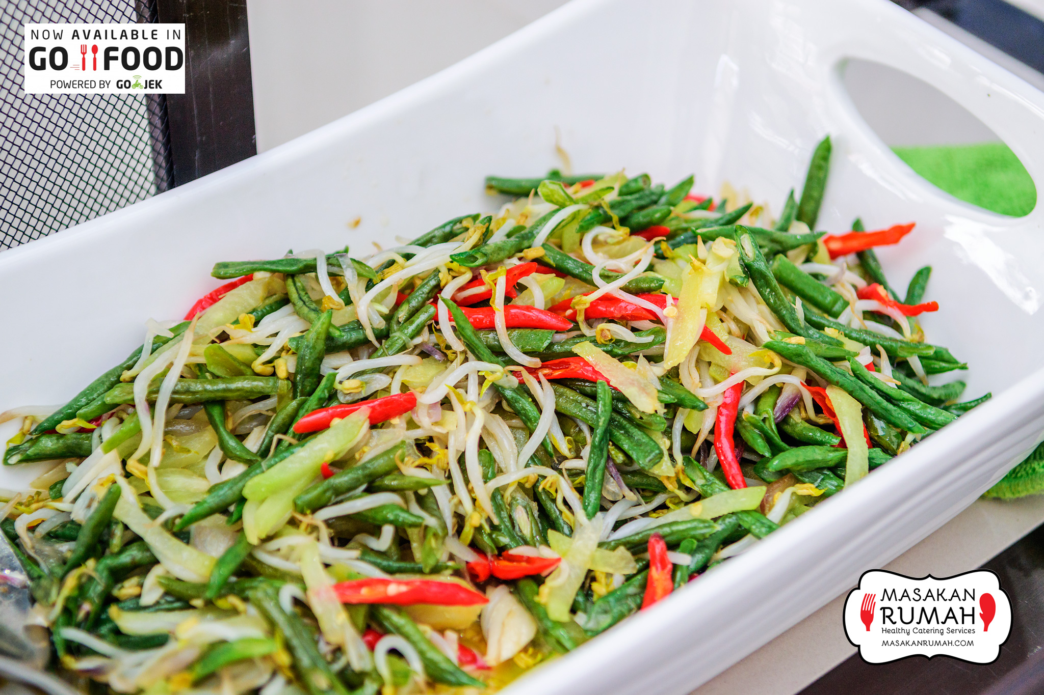 Aneka sayur masakan rumah